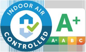 Certificato da Air Interieur Controle