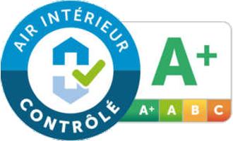 Certifié par Air Interieur Controle
